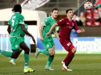 Liga 1: CFR Cluj, victorie usoara in fata celor de la Concordia