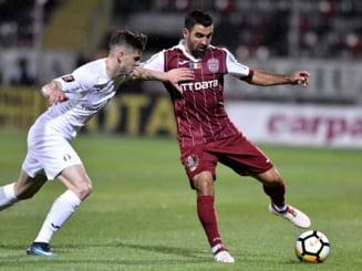 Liga 1: CFR Cluj a castigat la Giurgiu