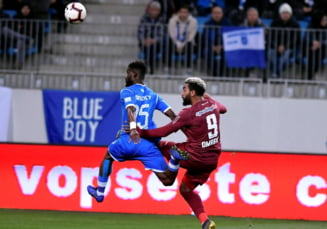 Liga 1: CFR Cluj castiga derbiul cu Universitatea Craiova