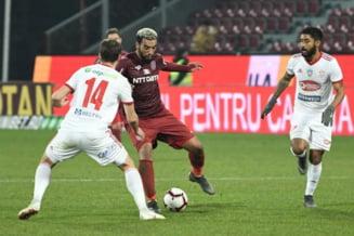 Liga 1: CFR Cluj castiga greu in Gruia