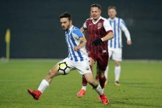 Liga 1: CFR Cluj castiga in prelungiri meciul cu CSM Poli Iasi, cu un gol marcat din offside