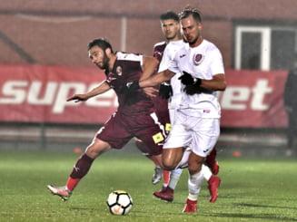 Liga 1: CFR Cluj devine lidera clasamentului, dupa o victorie chinuita la Voluntari