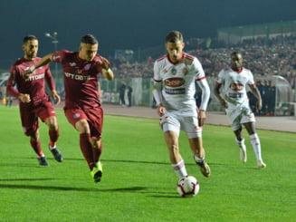 Liga 1: CFR Cluj invinge din nou pe Sepsi si incepe play-off-ul la 2 puncte avans de FCSB