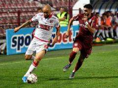 Liga 1: CFR Cluj mai face un pas gresit, in derbiul cu Dinamo
