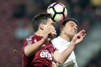 Liga 1: CFR Cluj nu a reusit sa profite de pasul gresit facut de FCSB