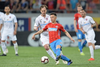 Liga 1: CFR Cluj o invinge la limita pe FCSB, dupa un meci decis de gafa lui Nedelcu