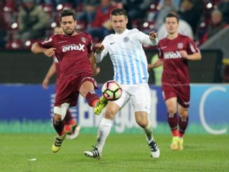 Liga 1: CFR Cluj obtine prima victorie din retur, dupa ce Iasiul a vrut sa iasa de pe teren