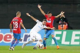 Liga 1: CFR Cluj si FCSB au refuzat fotbalul in Gruia si lupta pentru titlu ramane deschisa