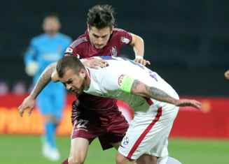 Liga 1: CFR Cluj si FCSB au remizat in derbiul etapei