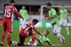Liga 1: CFR Cluj trece de Dinamo in derbiul etapei si revine pe primul loc