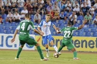 Liga 1: CSU Craiova castiga si o egaleaza pe FCSB