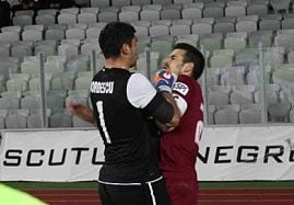 "Liga 1: Derbiul ""U"" Cluj - CFR, suspendat dupa o bataie generala"