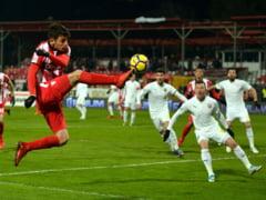 Liga 1: Dinamo invinge Voluntari dupa un meci cu sase goluri