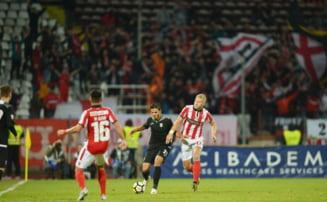 Liga 1: Dinamo nu termina pe loc de play-off la final de tur, dupa un egal cu Astra