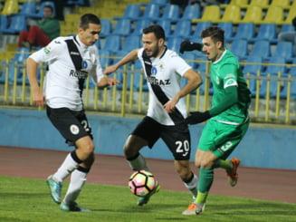 Liga 1: Egal in ultimul meci al anului pentru Concordia si Gaz Metan
