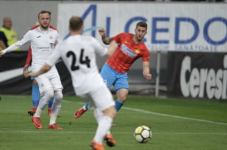 Liga 1: FCSB, invinsa de Astra Giurgiu dupa un meci modest
