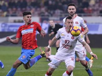 Liga 1: FCSB castiga spectaculos un meci cu sapte goluri, in prima etapa cu Hermannstadt