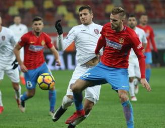Liga 1: FCSB egaleaza CFR Cluj in prelungiri si ardelenii pierd doua puncte uriase in lupta la titlu