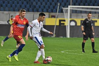 Liga 1: FCSB pierde puncte importante in lupta pentru titlu inca din debutul play-off-ului
