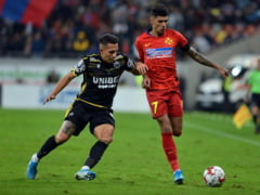 Liga 1: FCSB se impune in deplasarea de la Chindia si urca pe loc de play-off dupa mult timp