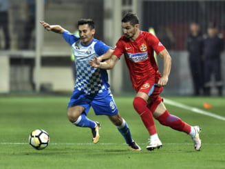 Liga 1: FCSB trece fara emotii de Juventus. Budescu a marcat direct din corner