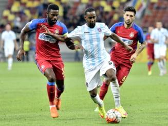 Liga 1: Steaua, victorie pe final cu ASA Targu Mures, decisa dupa un autogol