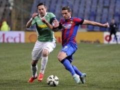 Liga 1: Steaua a calcat stramb cu CFR Cluj