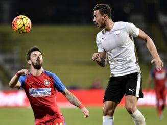 Liga 1: Steaua castiga chinuit la Voluntari si are din nou trei puncte peste Craiova