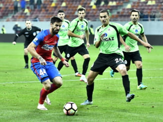 Liga 1: Steaua face o remiza la Medias, iar lupta pentru play-off se ascute si mai tare