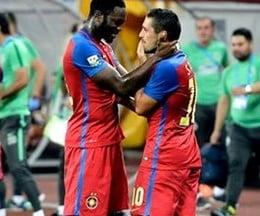 Liga 1: Steaua invinge clar Chiajna. Debut excelent pentru Kharja