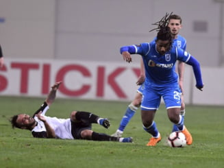 Liga 1: U Craiova castiga cu emotii la primul meci dupa demiterea lui Mangia