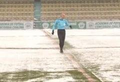 Liga 1: Ultimul meci din sezonul regulat a fost amanat din cauza conditiilor meteo