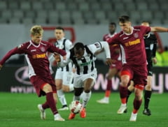 Liga 1: Universitatea Cluj castiga derbiul local cu CFR