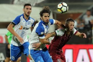 Liga 1: Universitatea Craiova castiga derbiul cu CFR si relanseaza lupta la titlu