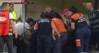 Liga 1: Universitatea Craiova invinge Dinamo intr-un derbi trist, cu Eugen Neagoe transportat la spital, dupa ce ar fi suferit un infarct