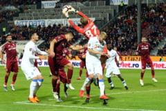 Liga 1: Universitatea Craiova invinge pe CFR Cluj si reaprinde lupta la titlu
