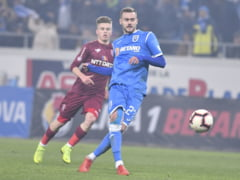 Liga 1: Universitatea Craiova si CFR, egal cu multi nervi, in avantajul lui FCSB