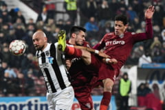 Liga 1: Victorie dupa un meci tensionat pentru CFR Cluj