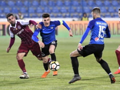 Liga 1: Viitorul intoarce dramatic partida cu CFR Cluj si castiga in ultimele 4 minute