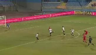 Liga 1: Astra a ajuns la un punct de play-off. Alibec si-a luat la revedere cu un gol superb