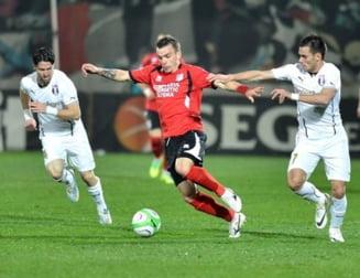 Liga 1: Astra intoarce dramatic scorul cu Pandurii si castiga pe final