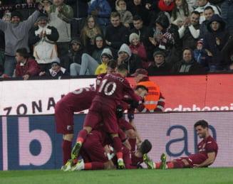 Liga 1: CFR Cluj, victorie importanta in fata Chiajnei