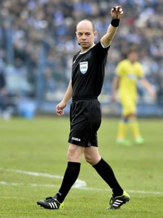 Liga 1: CSMS Iasi castiga dupa un arbitraj scandalos