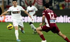Liga 1: Dinamo urca pe 2 in Romania, dupa un egal la CFR Cluj