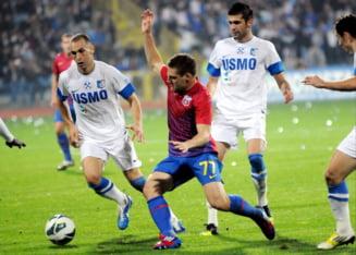 Liga 1: Steaua, infrangere dupa un joc lamentabil cu Pandurii