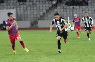 Liga 1: Steaua Bucuresti face spectacol cu Universitatea Cluj