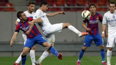 Liga 1: Steaua castiga un meci halucinant cu FC Botosani, cu 8 goluri marcate