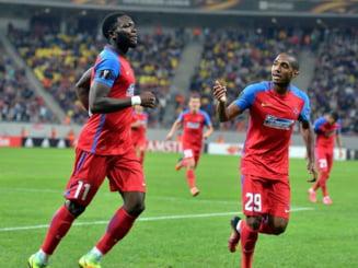 Liga 1: Steaua invinge pe CS U Craiova si se distanteaza in fruntea clasamentului