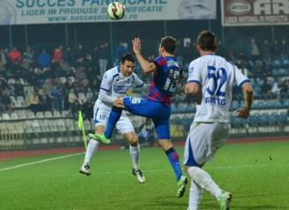 Liga 1: Steaua salveaza un egal in extremis cu Pandurii
