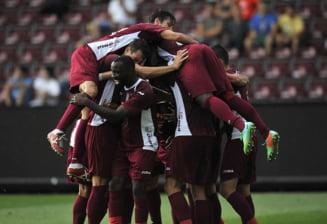 Liga 1: Victorie importanta pentru CFR Cluj